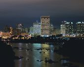 Richmond Night Skyline