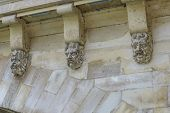 Architectural Detail Of Pont Neuf