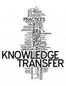 Word Cloud Knowledge Transfer