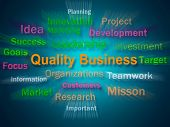 Quality Business Brainstorm Displays Excellent Company Reputation