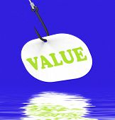 Value On Hook Displays Great Significance Or Importance