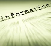 Information Definition Displays Customer Service Instructions And Faq Reports