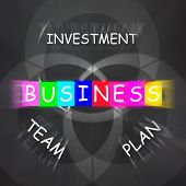 Business Requirements Displays Investments Plans And Teamwork