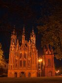 Night Church In Vilnius