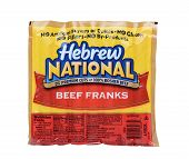 Hebrew National Beef Franks