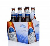 Michelob Ultra Six Pack Side End View