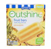 Dreyers Outshine Pineapple Fruit Bars
