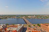 View Of Daugava River In Riga, Latvia
