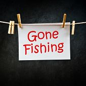 Gone Fishing Note