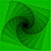 Tunnel blades spiral pattern