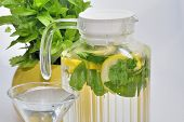 Carafe With Lemonade