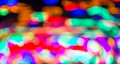 Blurred Mixed Christmas Light