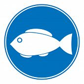 Sign Of Fishing Allowed