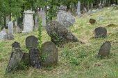 Old Jewish Cemetery , Europe,Czech republic, Mikulov