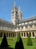 Historic Abbaye de Hommes poster