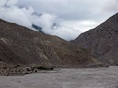 Monsoon In Dry Annapurna Himalayas