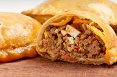Beef Empanada Close-up