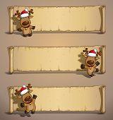 Christmas Elks Papyrus