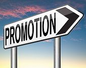 image of promoter  - job promotion or sales promotions of a product or service - JPG
