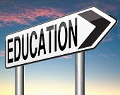 university education go to school or college learn to gather wisdom and knowledge train your brain