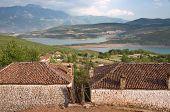 rural area Myc-has village around Fierza Lake, Albania