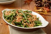 Постер, плакат: Green Bean And Onion Casserole