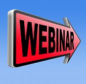 foto of video chat  - webinar online conference internet web meeting or workshop live video chat  - JPG