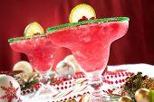 Frozen Pomegranate Margaritas