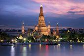 Wat Arun In Sunset