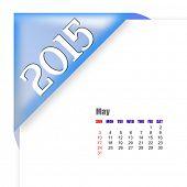 2015 May calendar