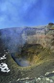 Crater Of The Villarica Volcano.