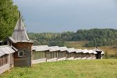 Wall Wooden Architecture Russia