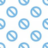 picture of bans  - Ban white and blue seamless pattern for web design - JPG