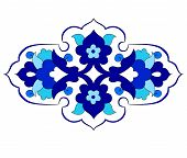picture of ottoman  - Inspired by the Ottoman decorative arts pattern designs - JPG