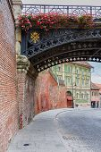 picture of sibiu  - Liars bridge and old architecture in Sibiu - JPG
