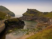 Boscastle Cornwall uk