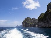 stock photo of phi phi  - Ko Phi Phi Ley is an island of the Phi Phi archipelago - JPG
