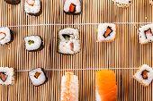 Постер, плакат: Sushi Table