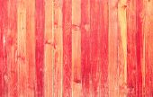 pic of red siding  - high resolution red color on wood texture background  - JPG