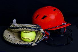 picture of softball  - safety - JPG