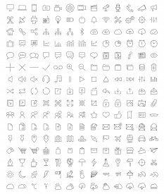 foto of logo  - Full set of Icons for developpers - JPG