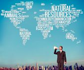 image of nature conservation  - Natural Resources Conservation Environmental Ecology Concept - JPG