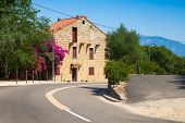 picture of stone house  - Figari South Corsica - JPG