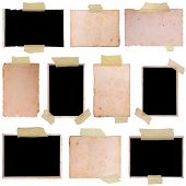 Vintage photo frames set 4, big collection