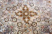 stock photo of tabriz  - detail of classic carpet - JPG