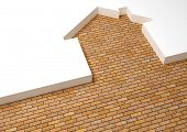 metaphor brick house