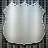 metal shield template (find more textures and templates in my portfolio)