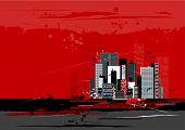 Escena urbana, Vector