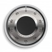 image of combination lock  - Combination Lock - JPG