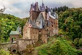Burg Eltz In The Eifel One Of The Most Famous Castles In Germany Rhineland Palatinate poster